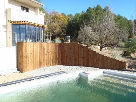 amenagement piscine sur calas